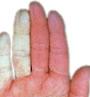 Vita fingrar