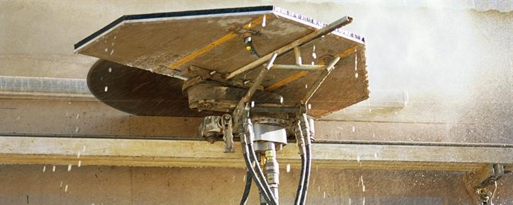 Hydraulisk väggsågning Pentruder