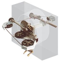 rundhålsskärning utrustning 3D